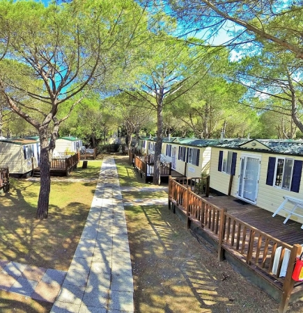 Camping Free Beach - 2 bedroom Mobile homes - 5 person