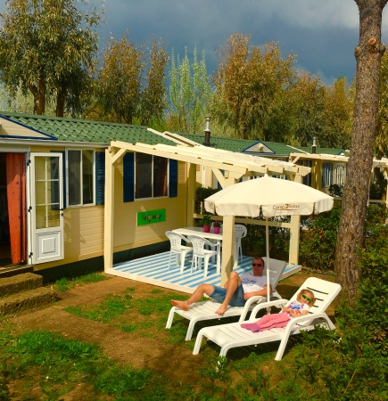 Camping Free Time --- 2 bedroom Mobile homes - 5 person
