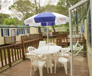 Camping Free Beach - 3 bedroom Mobile homes - 6 person